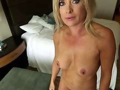 Mature Blonde Milf Point Of View