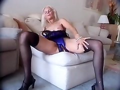 Incredible Amateur video with Doggystyle, Stockings scenes