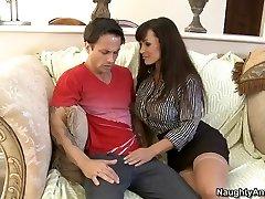 Lisa Ann & Alan Stafford in My Very First Sex Educator
