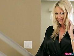 Blonde Cougar Bj's Off nerds big rod