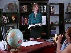 Hottest Big Inborn Tits tweak with Mature,Office scenes