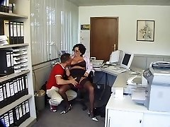 Mature Penetrated Fine in the Office