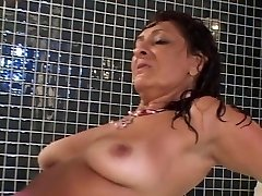 Fine Hairy Latin Mature pulverizes 2