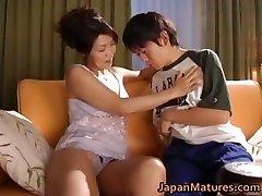 Naughty japanese mature babes deep-throating part2