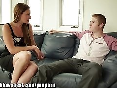 MommyBB Gorgeous mother Samantha Ryan is throating my friend again!