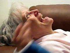 Granny Gargles Him Dry