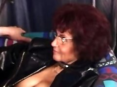 Pierced Grandma Smashes Again