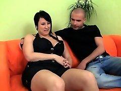 Boy picks up hot fatty to shag her