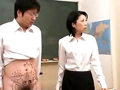 Mature instructor blowage