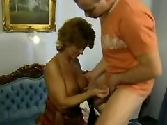 Red-haired Mature German Mother