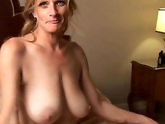 Slutty older babe is a super hot fuck and luvs facials