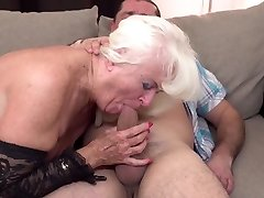 Mom and grandma get porked in their mature holes