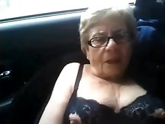 Drizzling grandmother