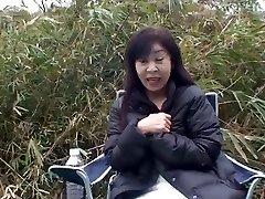 50yr elderly Grannie Satoko Tabata Creampied (Uncensored)
