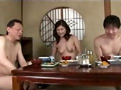 Japanese mature mom and step sonnie