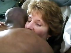 classy lady gets lengthy darksome cock deeply inside