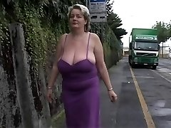 Solo #2 (Mature BBW with Monstrous Boobs)