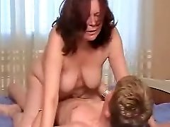 youthful boy and older woman 4