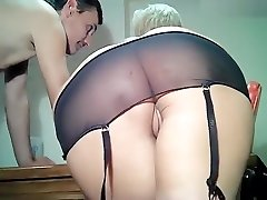 Depraved mature platinum-blonde Danyana