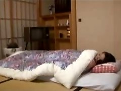 Japanese housewife to sexually aroused young boy