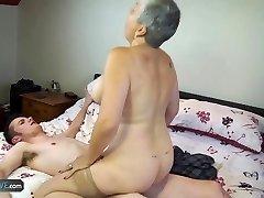 AGEDLOVE Grannie Savana fucked with indeed hard stick