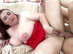 Hot mature moms entice youthful boys