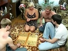 Mature wife group-fucked