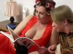 Busty Mother Helga and Slava 1
