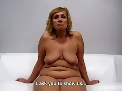 Czech Step Mother Audition - Mature Zuzana