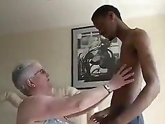 Big Boobied Grandmother Tries Dark Chocolate