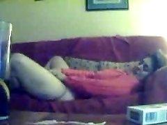 Hidden cam. My mummy masturbating
