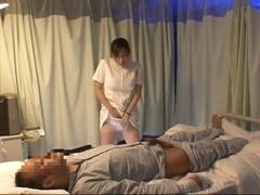 Best Japanese model Aya Kiriya, Mirei Yokoyama, Emiri Momoka in Exotic Nurse JAV flick