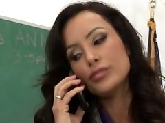 Huge-titted Mature Teacher Seduce Her Nerd Student