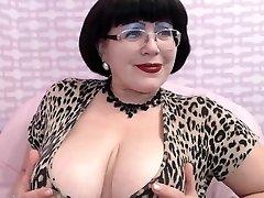 Mature Milf teasing on Web Web Cam Big Breast