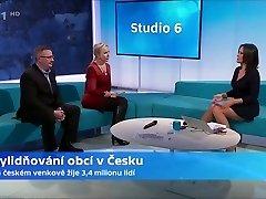 Czech TV presenter Jolka Krasna