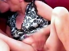Very rare vid of Anita sucking a cock dry
