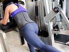 Fitness molten ASS hot CAMELTOE 90