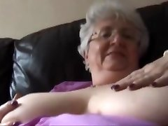 A truly ugly fat old whore