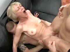 Entirely Slutty Granny Loves To Take Young Cocks And Spunk !