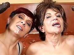 Grannies Hard-core Banged Interracial Porn with Old Women loving Black Cocks