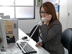 Japanese stellar milf in the office