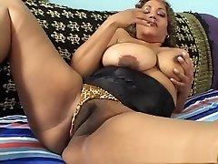 Exotic pornstar in ultra-kinky mature, latina porn video