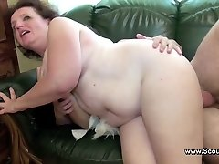 Mom caught german guy and get fucked in all crevasses