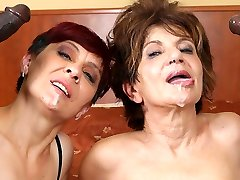 Grannies Hardcore Humped Interracial Porn with Old Girls sex