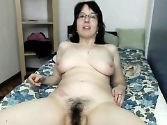 Plump MILF Double Boinks Hairy Pussy And Ass