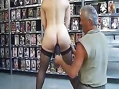 Mature French chick is put through the ringer in this BDSM pinch