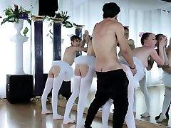 Mature fuck-fest party Ballerinas