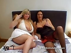 Feeding the mature with mens jizz
