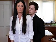India Summer Blackmailed MILF Pays Hubbies Debt Blackmailed