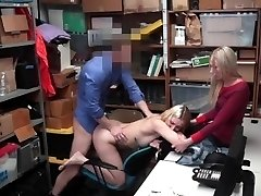 Shoplyfter - Youthful Daughter Fucks Cop To Save Mommy